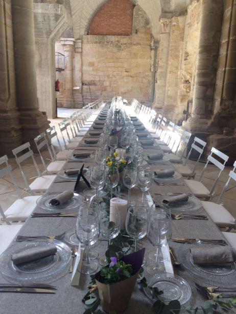 Boda en el monasterio de Kozinart, catering Madrid