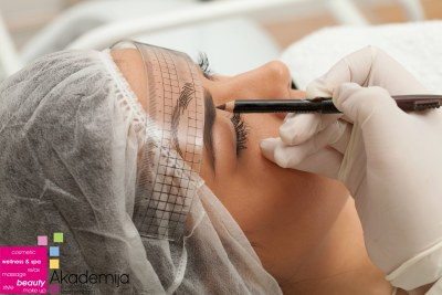 Permanent make up eyebrows