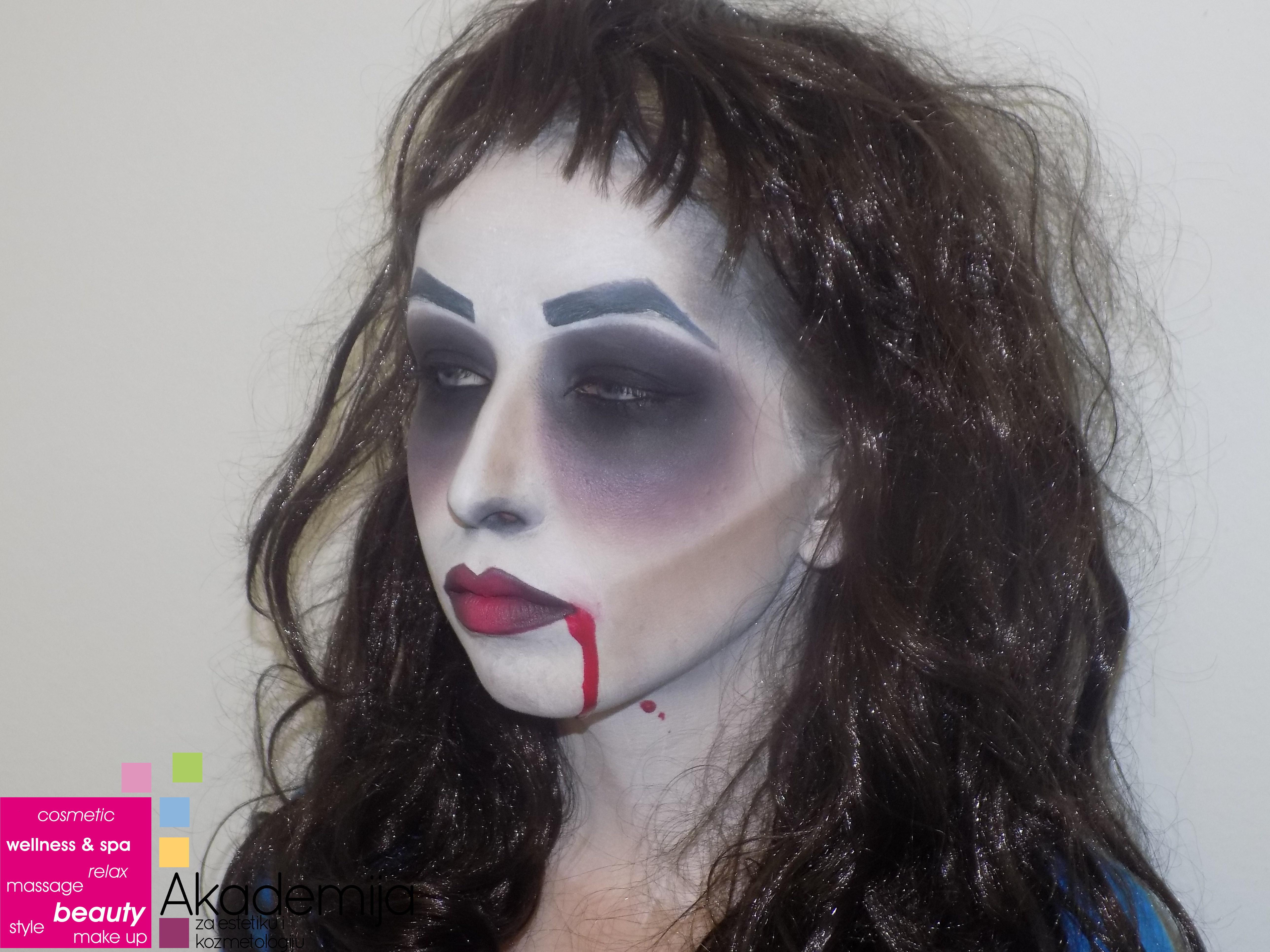 gothic Šminka sa nastave na smeru make up artist
