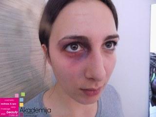 KAKO SE RADE SPECIJALNI EFEKTI – druga godina studija, smer: Makeup artist