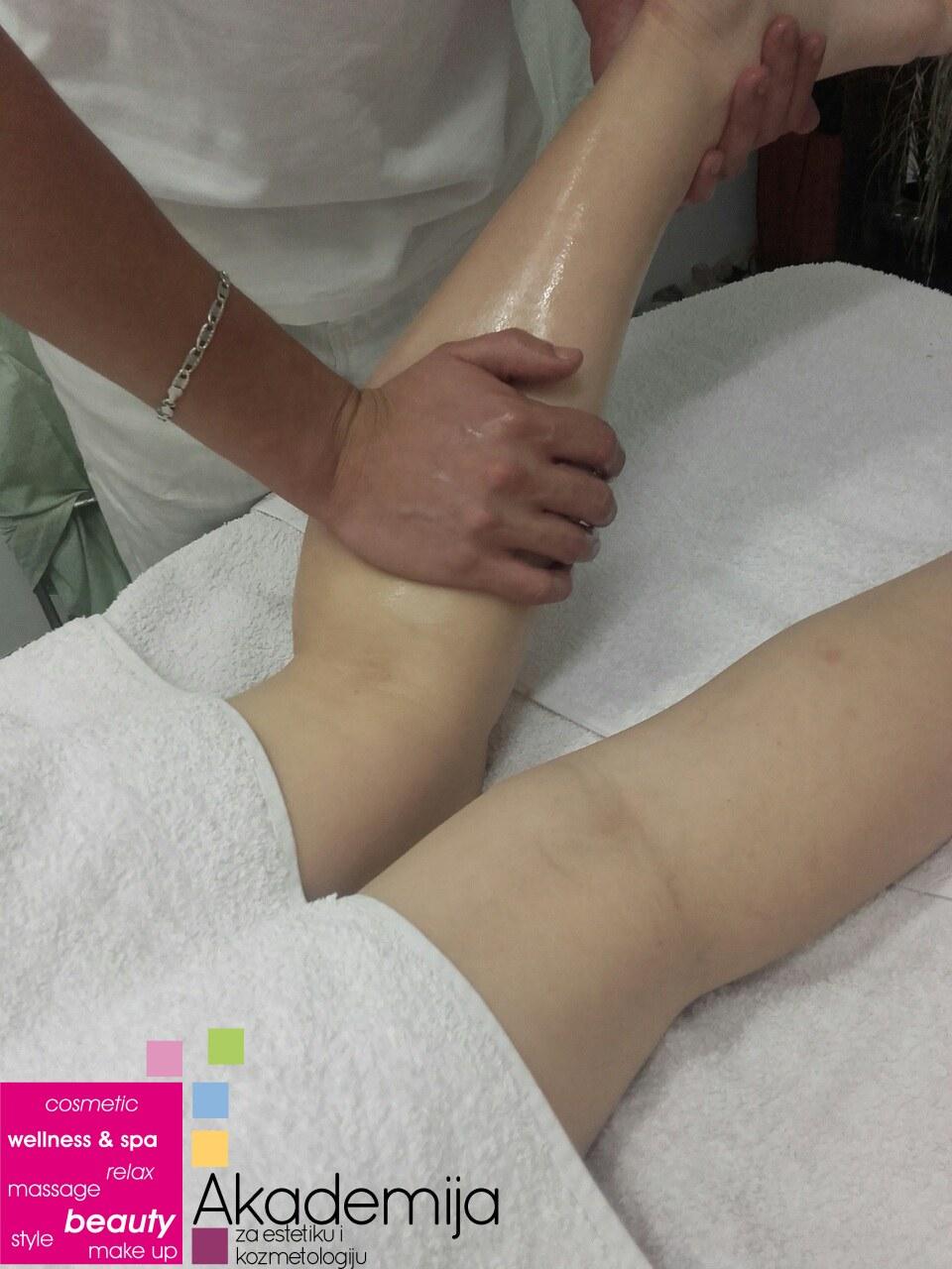 masaža ruku i nogu