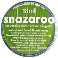 SNAZAROO boje za body art LIME GREEN