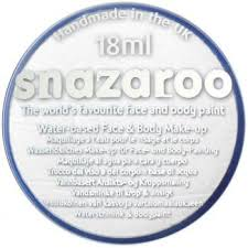 SNAZAROO Boja za body art WHITE