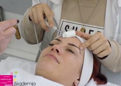 UNOS VITAMINA C – sa nastave na kursu za kozmetičara II nivo