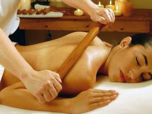 masaža oklagijama
