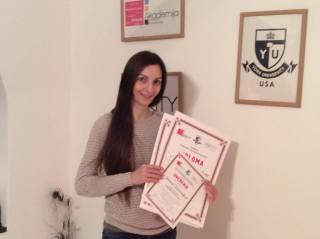 Jasmina Vukosavljević, akademski kurs šminkanja