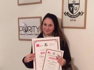Ana Janković, akademski kurs tehnika šminkanja lica