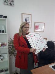 Sandra Gavrilov, akademski kurs manikira, pedikira i depilacije
