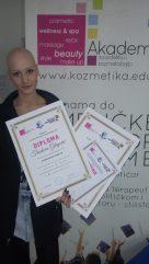 Teodora Gligorić, akademski kurs profesionalnog šminkanja