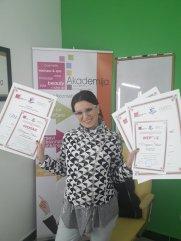 Marijana Stanić, akademski kurs profesionalnog šminkanja