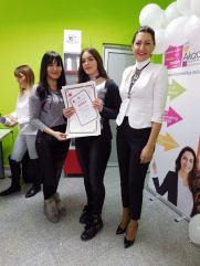 Deana Milić, akademski kurs profesionalnog šminkanja