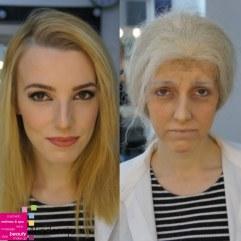 POSTARIVANJE ZA SCENU – tema na nastavi iz oblasti scenske šminke