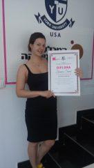Zorana Simić, akademski kurs profesionalnog šminkanja