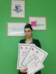 Jovana Paunović, kurs profesionalnog šminkanja