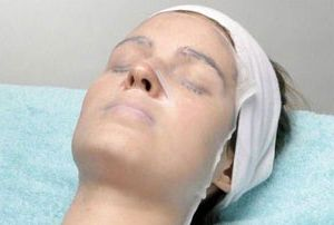 parafinska maska za lice