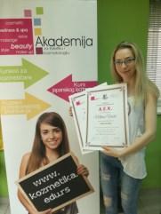 Milica Vučić, kurs maderoterapije