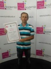 Budimir Šuljagić, kurs šiacu masaže