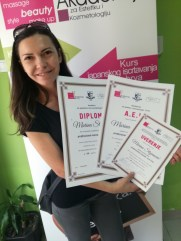 Marina Stojanović, kurs profesionalne masaže