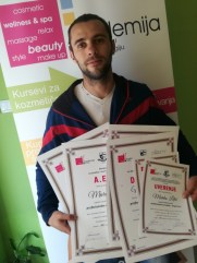 Marko Lilić, kurs profesionalne masaže