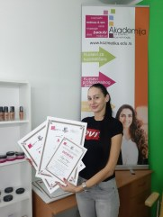Lidija Odžić, kurs profesionalnog šminkanja