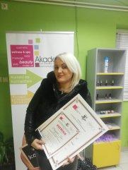 Danijela Icić, kurs profesionalne masaže