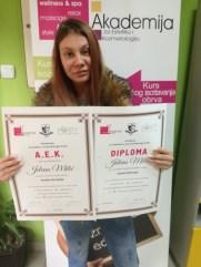 Jelena Milić, kurs maderoterapije