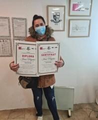 Irma Mujakić, Sarajevo, kurs: MADEROTERAPIJA
