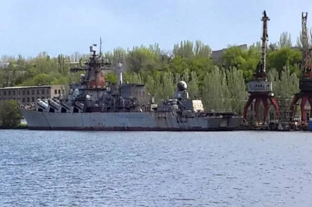 Який вигляд ракетний крейсер «Україна» має насправді
