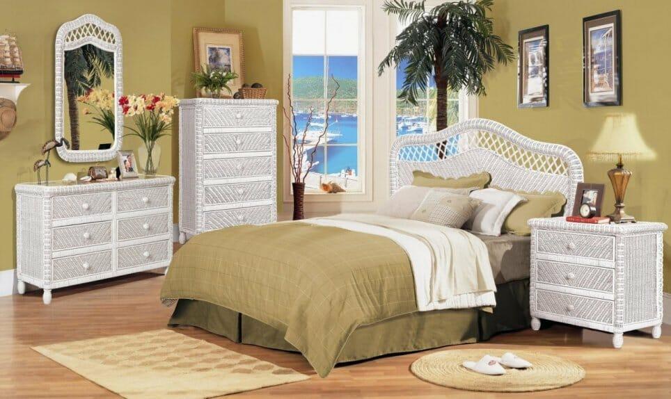 wicker bedroom furniture kozy kingdom