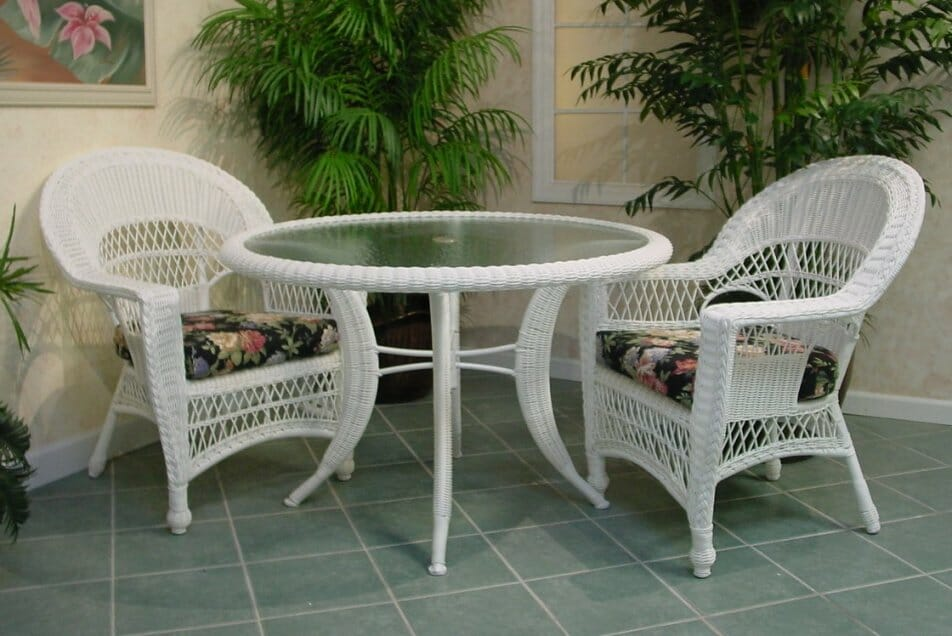 Veranda Outdoor Wicker Dining Furniture Kozy Kingdom