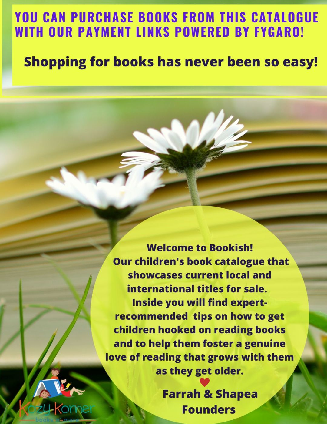 Bookish Catalogue Spring Edition Cover Page 2
