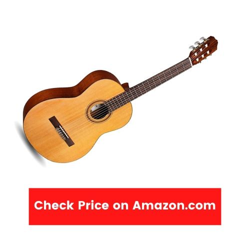 6 Best Wide Neck Acoustic Guitar - Beginner Friendly and Cheap (Updated 2021) - Cordoba C3M Classical Guitar