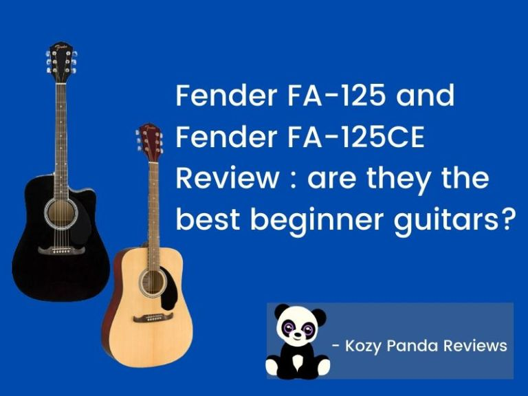 Fender FA-125 and FA-125CE Review