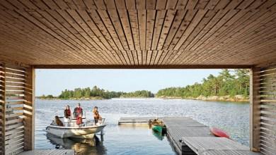 Photo of Könnyűszerkezetes úszóházak