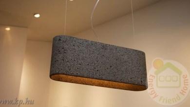 Photo of Gyönyörű lámpák vulkanikus kőzetből