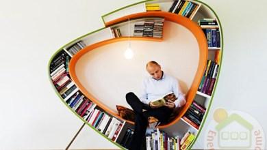 Photo of Kreatív és színes könyvespolc