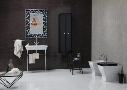 Bruna-Rapisarda-Art-deco-elements-monochrome-bathroom