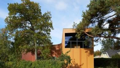 Photo of L-alakú görbe ház Svédországból