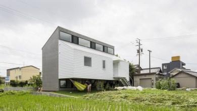 Photo of Inspiráló japán építészet egy rizsföld mellett
