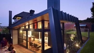 Photo of Vad geometriájú, modern lakóház Ausztráliából
