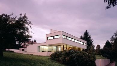 Photo of P-ház: minimalista lakóház fantasztikus kilátással Németországból