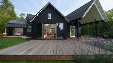 Photo of Rusztikus falusi ház hagyományos dán elemekkel