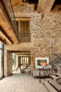 Wood-and-stone