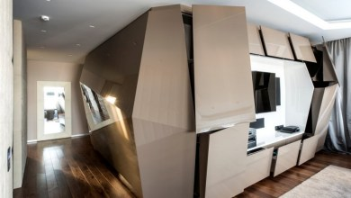 Photo of Futurisztikus lakás Moszkvában