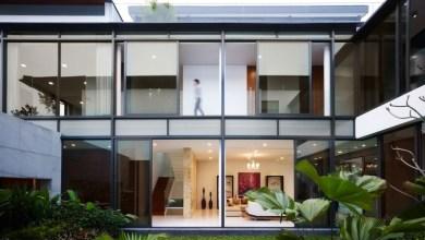 Photo of Interakcióra ösztönző nagy családi ház Szingapúrban