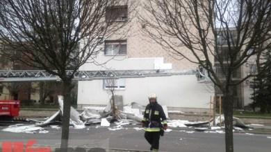 Photo of Leszakadt egy 4 emeletes panelház vakolatrendszere