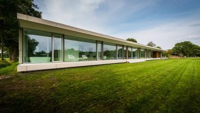 Photo of Egy szintes ház a tájban Hollandiából