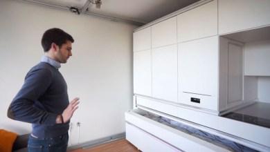 Photo of Innovatív apartman design, amely hang segítségével alakítja át a funkciókat