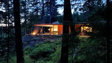 Photo of Csodálatos otthon az erdő közepén