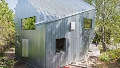 Photo of Kortárs előregyártott ház Svédországban